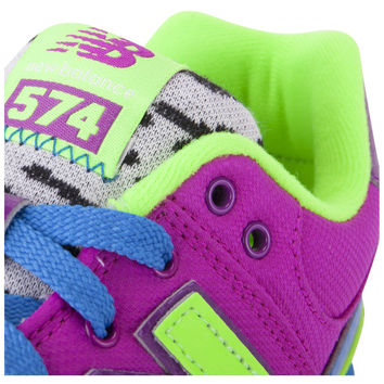 SHOES - KIDS - GRADE SCHOOL - New Balance Kids 574 Grade School - Pink Multicolor - Buy Online at DTLR