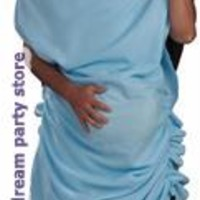 Men's Double Occupancy Adult Costume - Blue for Halloween