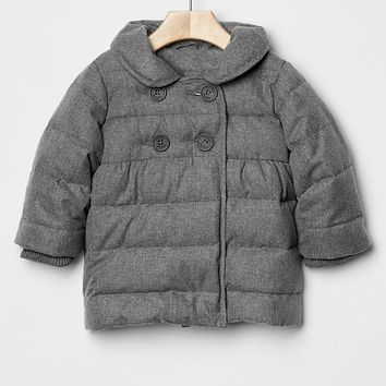 Gap Baby Herringbone Puffer Jacket