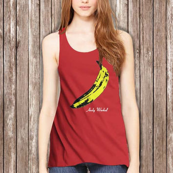 The Velvet Underground Andy Warhol Women Tanktop - tri1 Tanktop For Women  / Custom - Tanktop / Women Tanktop