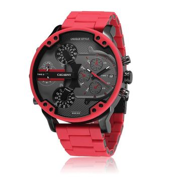 Luxury Quartz Cool Big Case Watch For Men