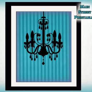 Haunted Mansion, Chandelier, Disney, Shabby Chic, Haunted Chic, Art Printable, 8 X 10 Haunted Decor, INSTANT DOWNLOAD