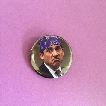 Prison Mike Pinback Button