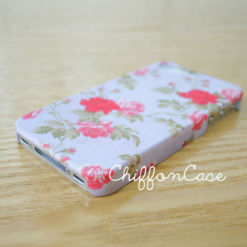 Floral iPhone 4 Case , Vintage Rose iPhone 4S Case, iPhone 4 Cover, Cases, Cute iPhone Case, Unique Apple iPhone4 Case, Hard Case