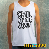 Fall Out Boy Clothing Tank Top For Mens
