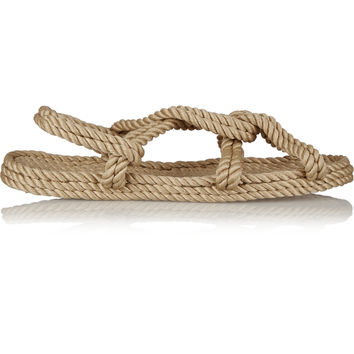 Totême - + Gurkees Biot rope sandals