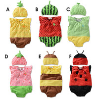 Stylish Comfortable Hot Sexy Beach Bralette Fruits Summer Baby Vest [4919770692]