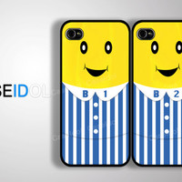 Cases Couple Bestfriend Case iPhone 4 Case iPhone 4s Case iPhone 5/5s/5c Case S3/S4 idea case movie cartoon palody CaseiPhone iPhonecase