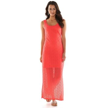 Apt. 9 Textured Illusion Maxi Dress