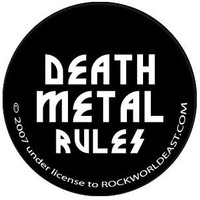 Sick Buttons -  Death Metal Rules!