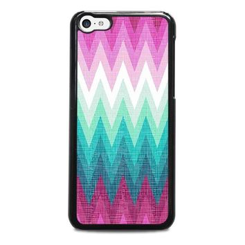 ombre pastel chevron pattern iphone 5c case cover  number 2