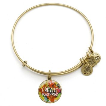 Peace Of Mind Charm Bangle | PeaceLove Foundation
