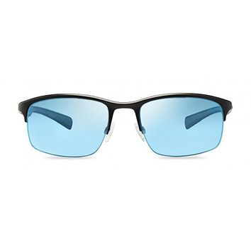 Revo - Fuselight Black Sunglasses, Blue Water Serilium Lenses