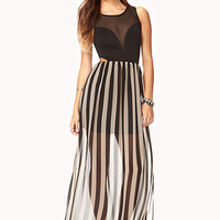 Sleek Cutout Maxi Dress