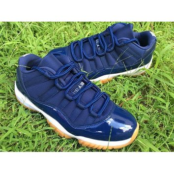 Air Jordan 11 Retro Low Navy Gum AJ11 Sneakers