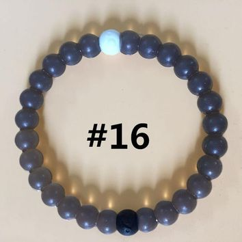 Purple Lokai Bracelets - Made with Dead Sea Mud & Mt. Everest Water