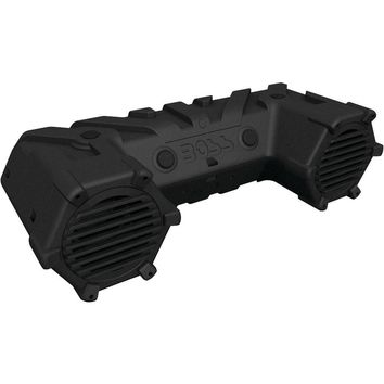 """Boss Audio All-terrain Amplified Sound System With 8"""" Speakers, Dual-row Led Light Bar & Bluetooth BOSATVB95LED"""