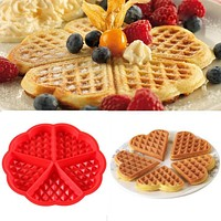 Mini Round Waffles Pancake Baking Mold