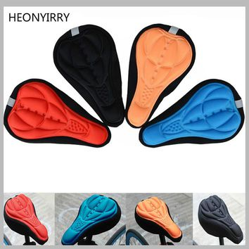 3D Seat Saddle For Bicycle Cycling MTB Mountain Bike Bicycle Saddle Seat Cover Pad Cushion Foam Bike Bicycle Accessories Parts