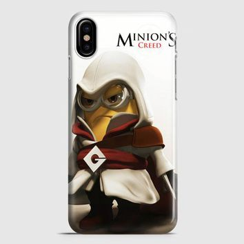 Assasin Minion iPhone X Case