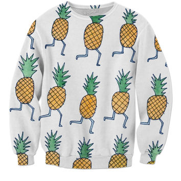 Pineapples on the run