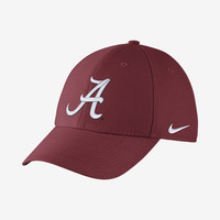 The Nike College Dri-FIT Wool Swoosh Flex (Alabama) Fitted Hat .