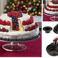 3 Tier Bake and Fill Cake Baking Pan