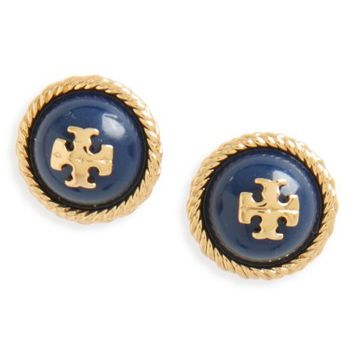 Tory Burch Rope Stud Earrings | Nordstrom