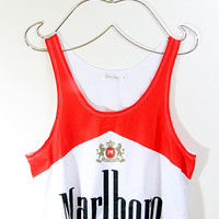 Marlboro Crop Tank Top