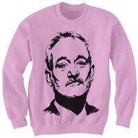 Bill Murray Drawing Crewneck Sweatshirt