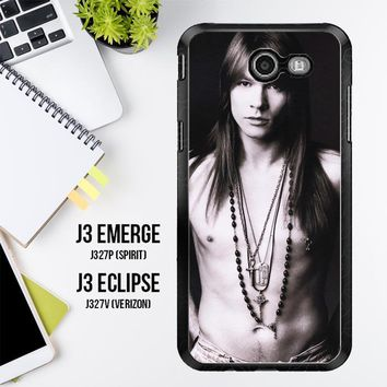 Axl Rose Guns And Roses Wallpaper Y0566 Samsung Galaxy J3 Emerge, J3 Eclipse , Amp Prime 2, Express Prime 2 2017 SM J327 Case