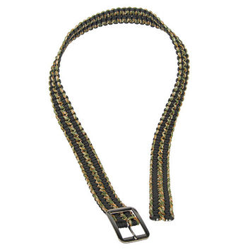 Paracord Camo Belt with Metal Buckle