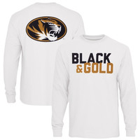 Missouri Tigers Colors Long Sleeve T-Shirt – White