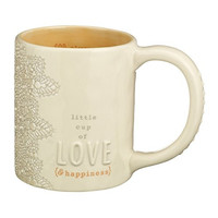 Inspired Living with Grace - Little Cup of Love ... Coffee Tea Ceramic Mug (... & happiness)