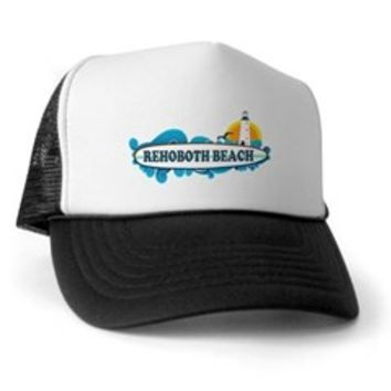 Rehoboth Beach DE - Surf Design Trucker Hat> Rehoboth Beach DE - Surf Design> Beach Tshirts.