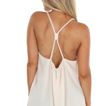 Cross Rope Tank Cream