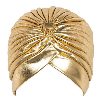 Golden Turban Hat