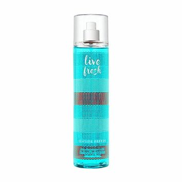 Bath Body Works Live Fresh Seaside Breeze 8.0 Oz Fine Fragrance Mist