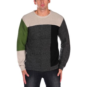 Cheap Monday Hisoka Color Block Sweater