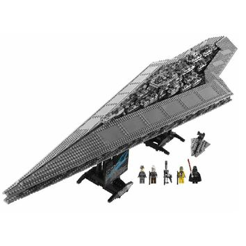 New LP 05028 3208pcs Star Set Wars Super Star Destroyer Model Building Block Brick Toys Compatible legoings 10221