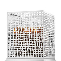 Tall Square Crosshatch 3-Wick Candle Sleeve | Bath And Body Works