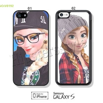 Disney frozen Phone Cases, iPhone 5/5S Case, iPhone 4/4S Case,  iPhone 5C Case, let it go Galaxy S3 S4 S5 Note 2 Note 3-A020