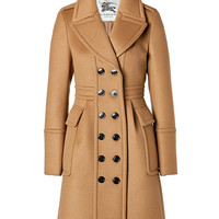 Burberry London - Cashmere-Wool Winstan Coat in Ochre Brown
