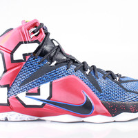 Men's LeBron 12 XII QS Premium What The
