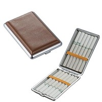 Visol Tam Leather Double Sided Cigarette Case