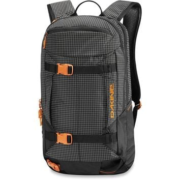 Dakine - Mission Pro 18L Black Rincon Backpack
