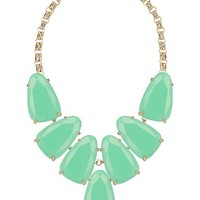 Harlow Statement Necklace in Mint - Kendra Scott Jewelry