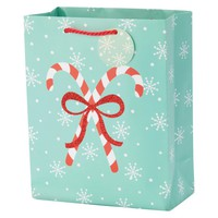 Spritz Candy Cane Gift Bag Small Cub : Target
