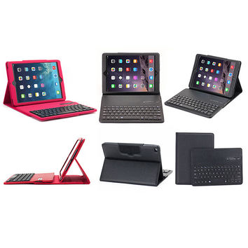 BLUETOOTH KEYBOARD Folio Leather Case for iPad Air 1 2