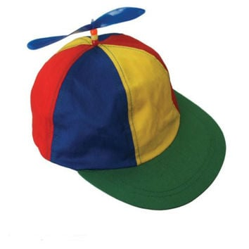 Propeller Beanie Multi-Color Baseball Style Cap